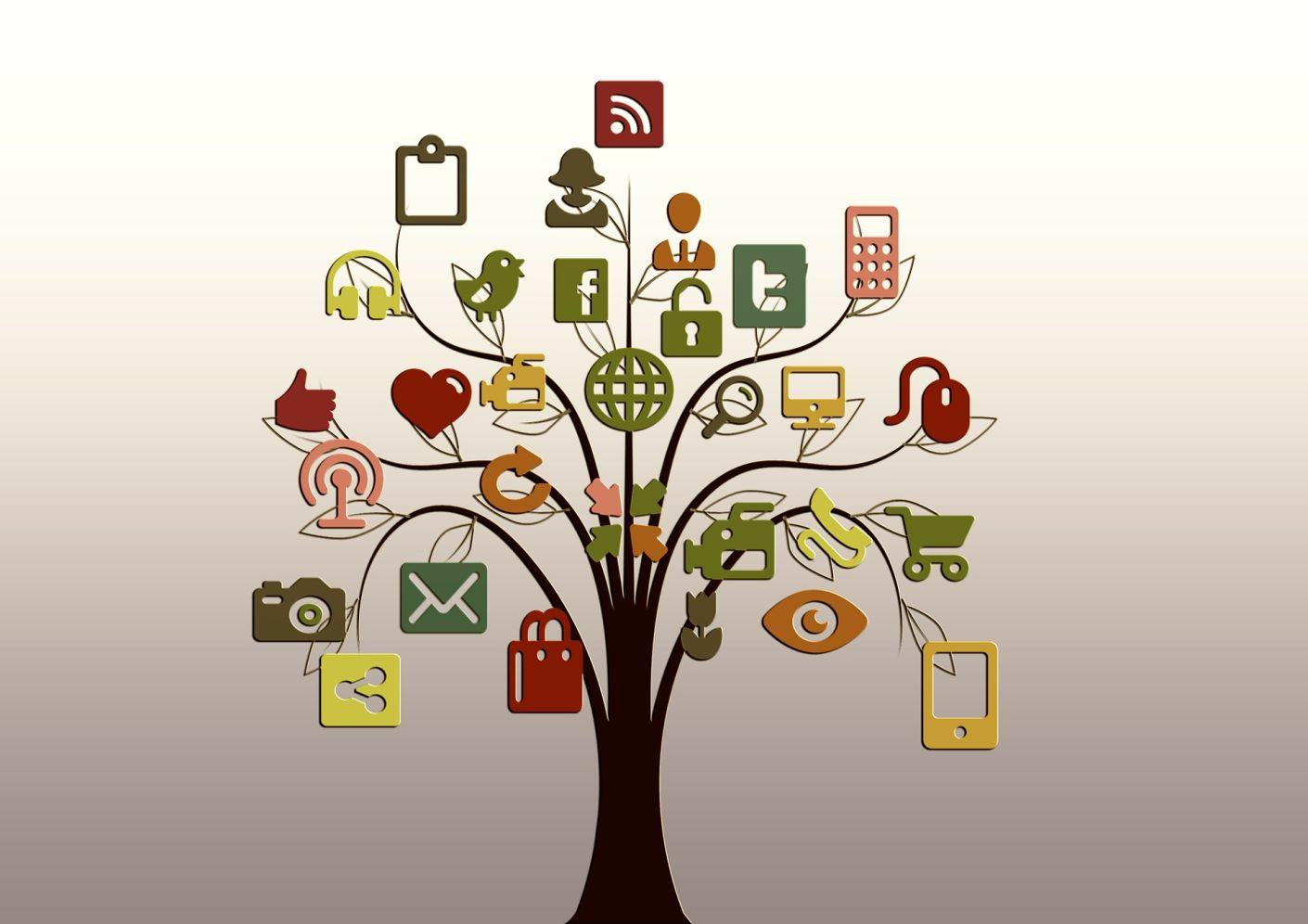 Verbindungen Knüpfen In Den Sozialen Netzwerken Blaj